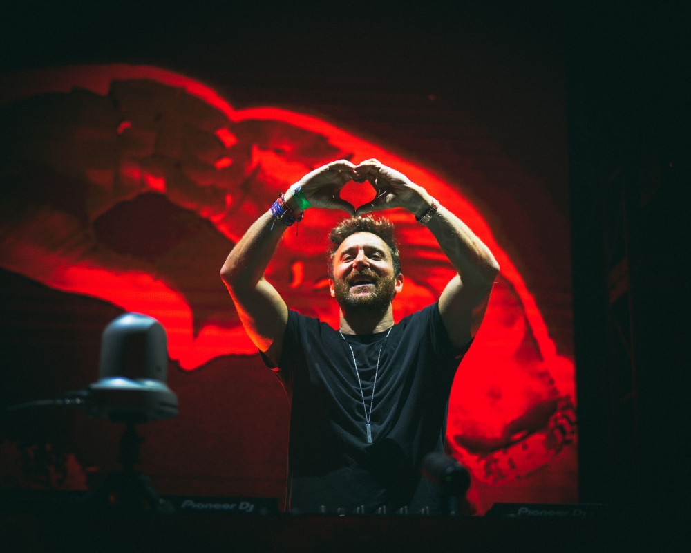 David Guetta Puts On a Show at Depot 52 for NYE