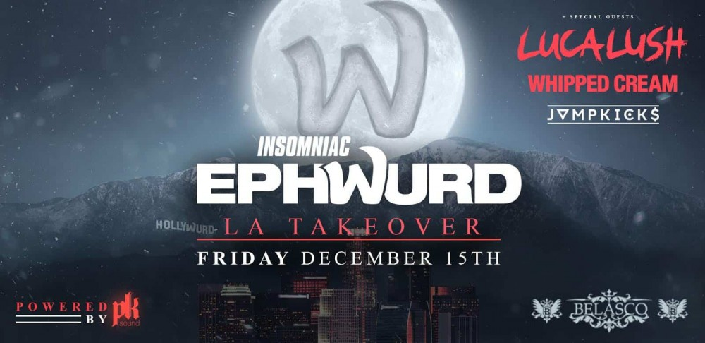 Ephwurd And Insomniac Teamed Up For A Successful LA Takeover