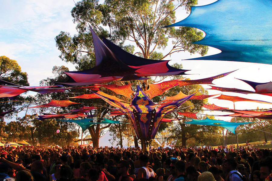 Festival Contractor In Australia Is Caught With Tons Of Drugs