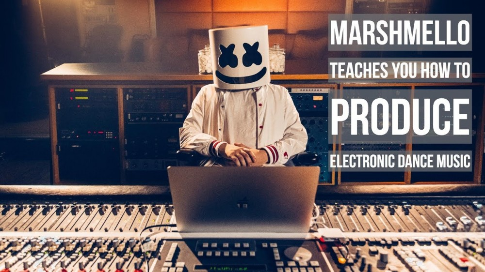 Go Behind-The-Scenes With Marshmello As He Teaches You How He Created His Biggest Hits