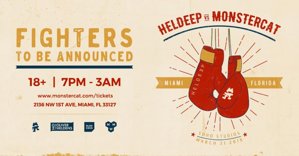 Heldeep and Monstercat Will Battle It Out During Miami Music Week