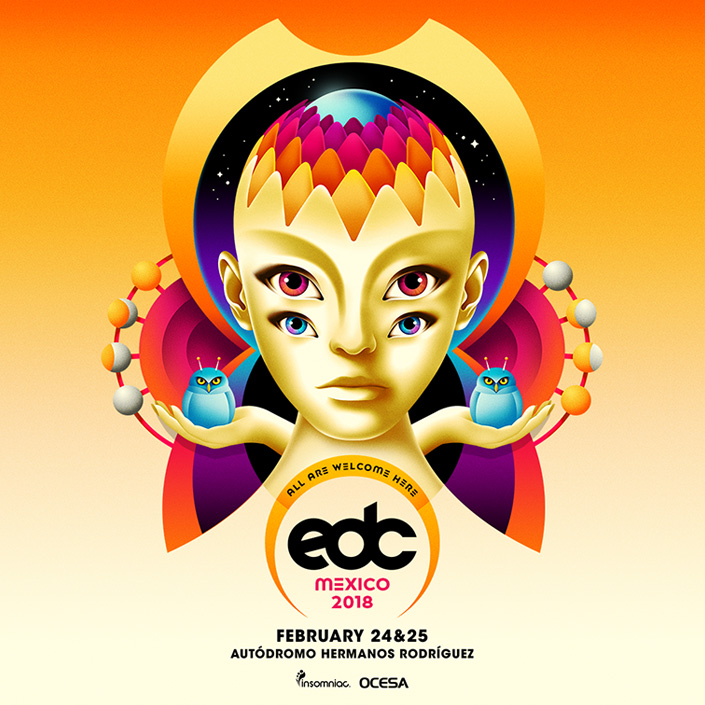 Insomniac Sets The Tone With Trailer For EDC Mexico 2018