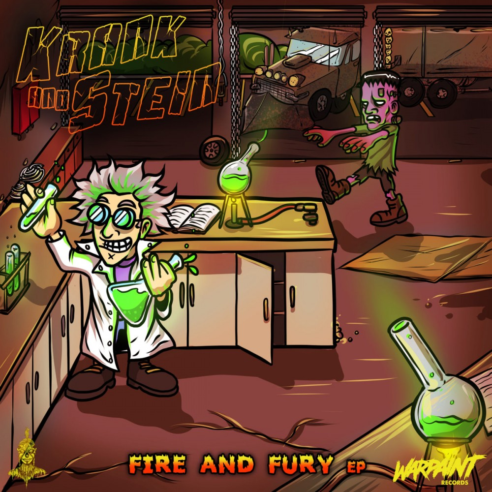 """Krank & Stein Bring Forth """"Fire And Fury"""" EP"""