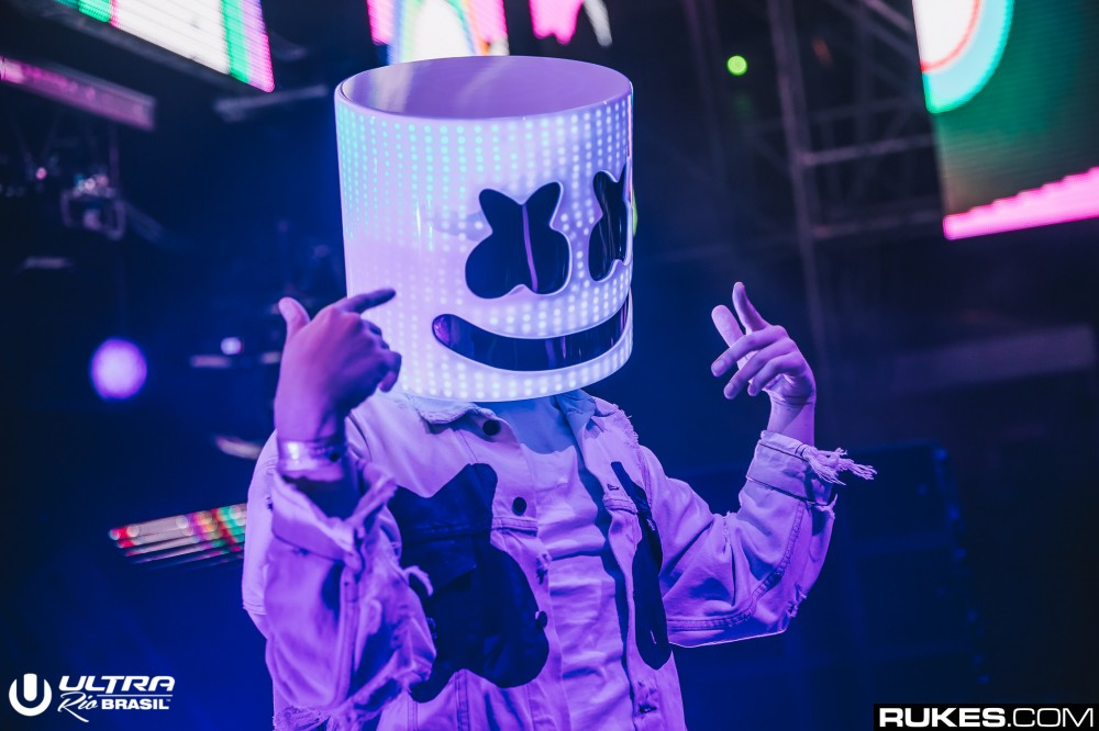 Marshmello Breaks from Pop Collabs with New EDM EP