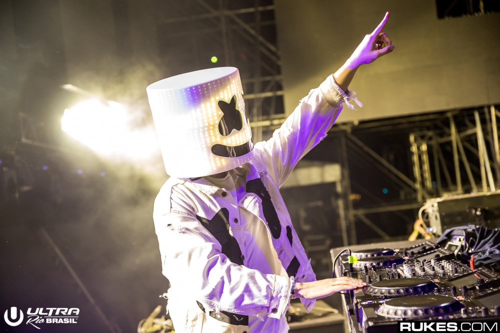 Marshmello Drops The Curtain On His Collaboration With Lil Peep