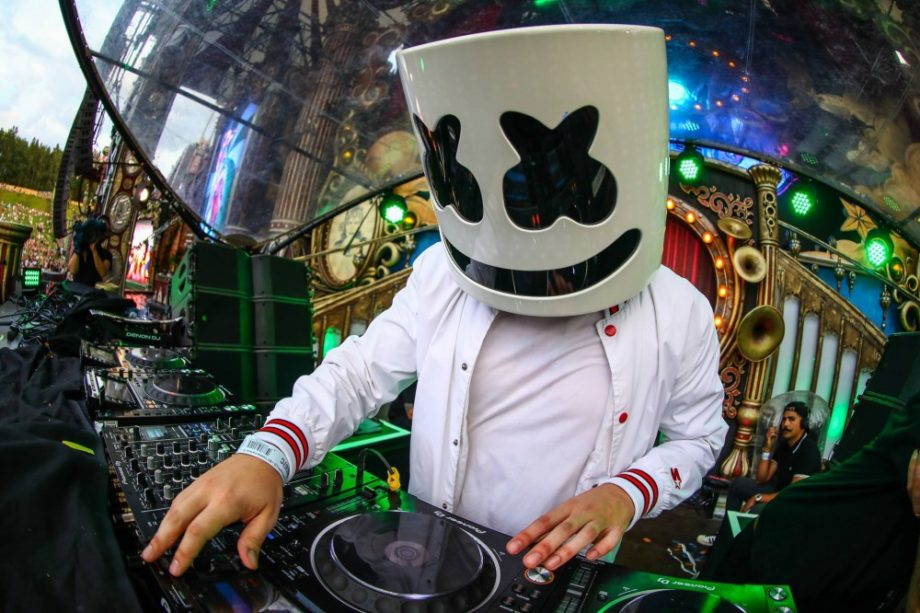 Marshmello Reveals His True Identity During His San Francisco Show