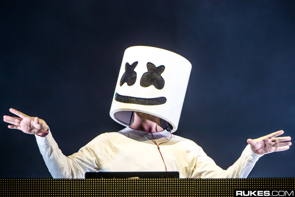 Marshmello Takes Off The Helmet For New Tour Reveal [VIDEO]