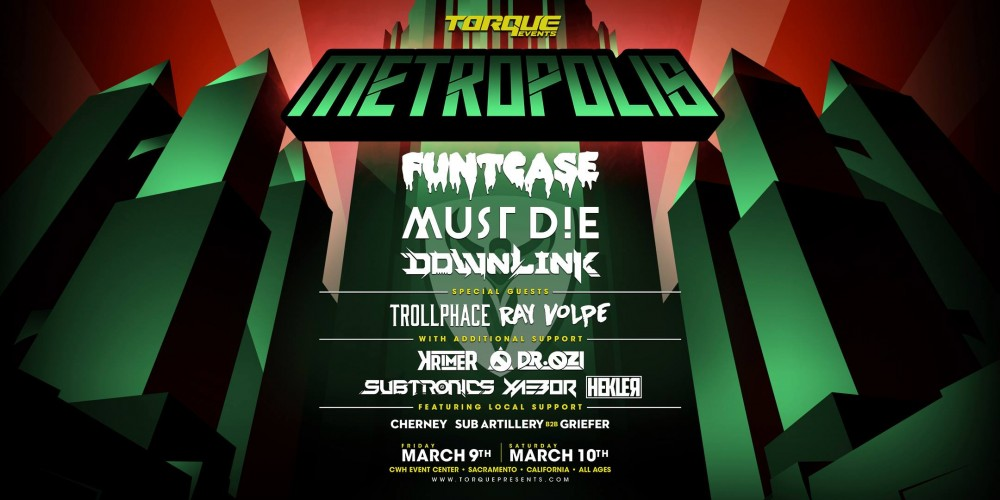 Metropolis Adds Downlink, Must Die!, and More In Phase 2 Lineup