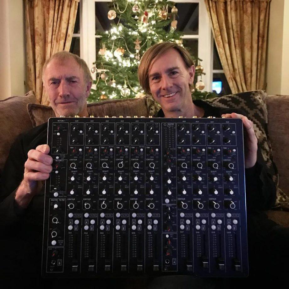 Richie Hawtin's new Model-1 mixer has arrived