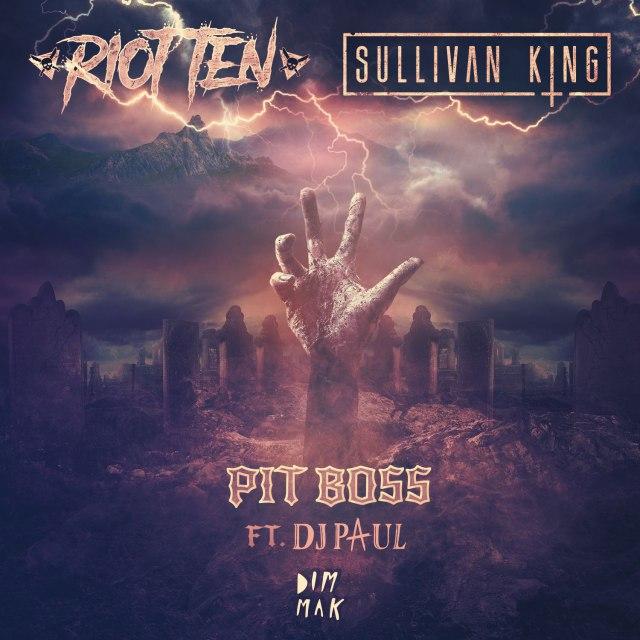 Riot Ten & Sullivan King Returns with 'Pit Boss' Featuring Three Six Mafia's DJ Paul in his latest EP