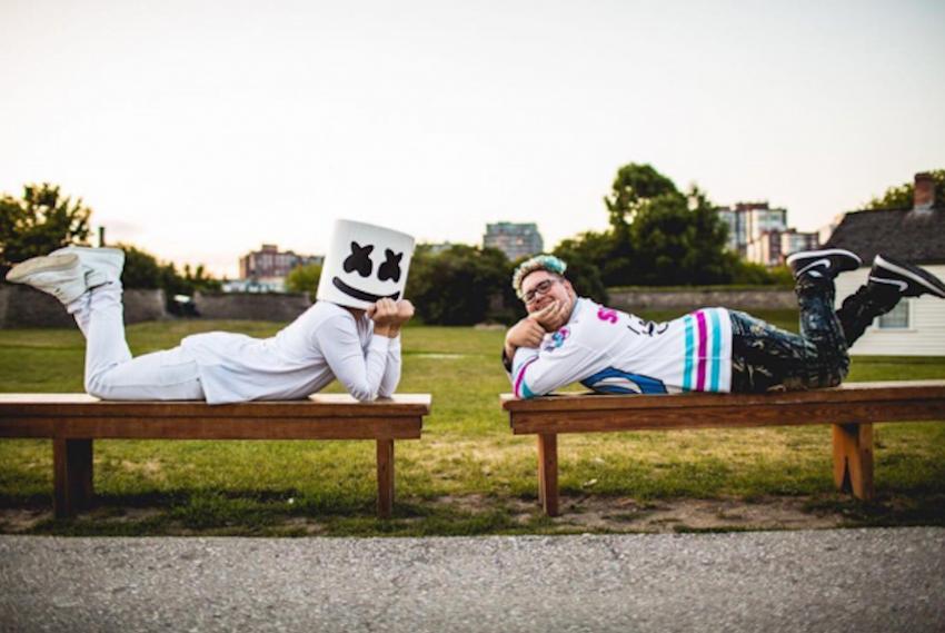 Slushii Teases New Collaboration with Marshmello