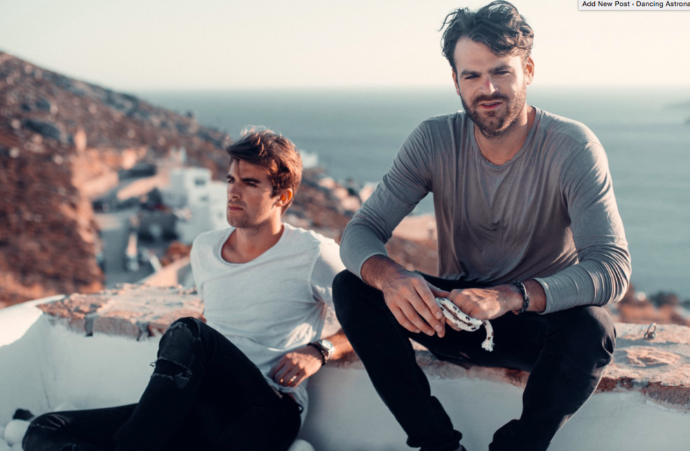 The Chainsmokers unveil new logo, share mysterious tweet