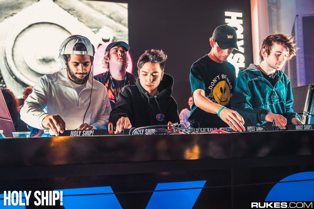 Watch Josh Pan Go b2b Louis The Child b2b A-Trak b2b Hotel Garuda At Holy Ship [VIDEO]