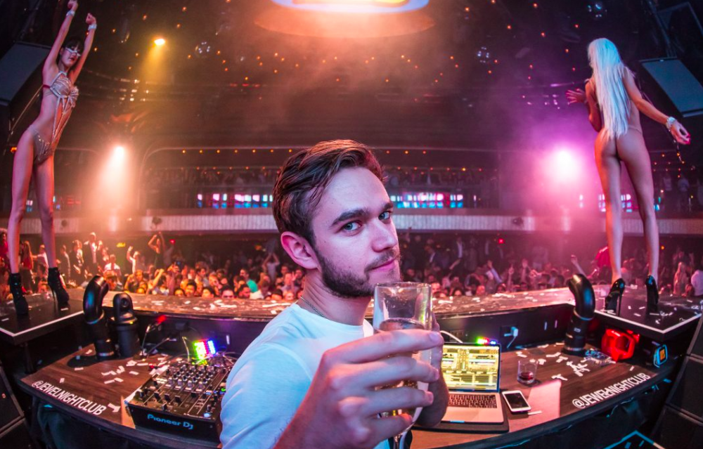 Zedd is the first artist of 2018 to renew his Hakkasan Group residency