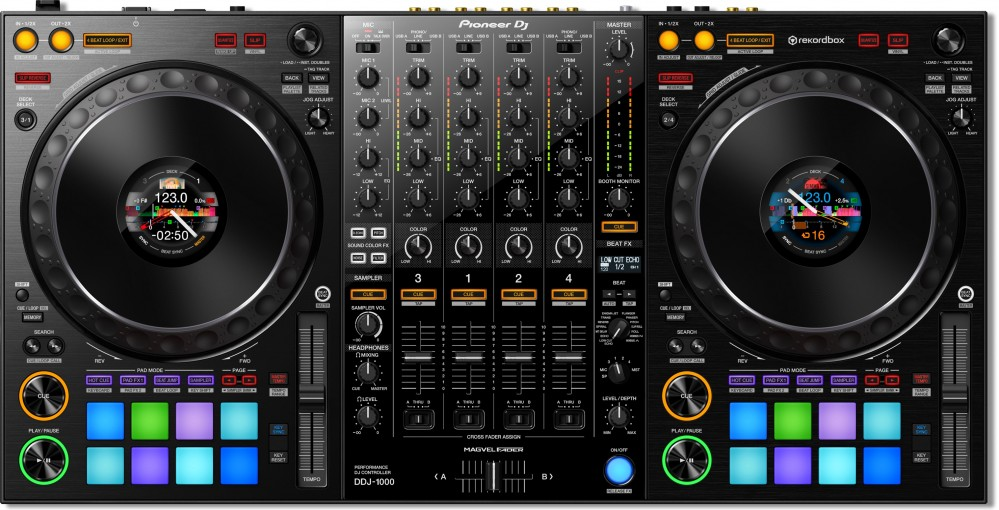 Pioneer's New DDJ-1000 Controller Is The Closest To CDJs You Can Get