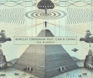 Barclay Crenshaw debuts new track of 2018, 'The Baddest' with sister duo, Cam & China