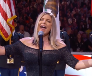 Fergie's Cringe-Worthy National Anthem Performance Has The Whole Internet Ablaze