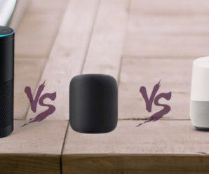 Google Home vs Amazon Echo vs Apple HomePod: Best Smart Speaker