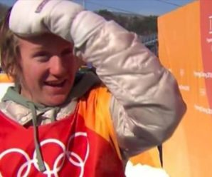 "USA Athlete Oversleeps, Wins Olympic Gold & Says ""Holy F*ck"" On Live TV [VIDEO]"