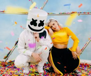 "Marshmello Shows Us He Can Play The Guitar In The New ""Friends"" Video"