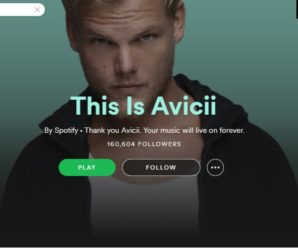 Spotify's This Is Avicii Playlist Updated To Reflect His Passing