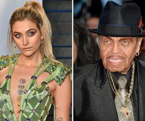 Paris Jackson Says Grandfather Joe 'Didn't Tweet' Cryptic Message