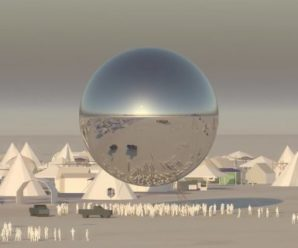 Check out Burning Man's new 100-foot disco ball