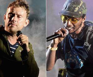 Del the Funky Homosapien Falls from Stage During Gorillaz Show