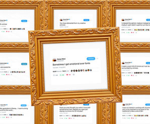 Framed Kanye West Tweets Are Now a Thing You Can Buy