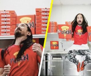 Steve Aoki Has Launched His Own Pizza Company PIZZAOKI