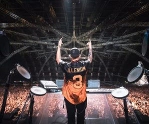 Watch Illenium tease new unreleased material at Global Dance Festival