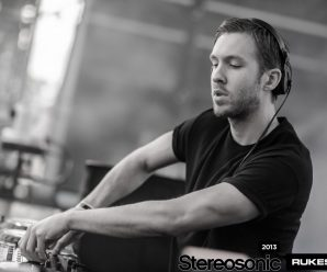 Calvin Harris Actually Has A Framed Picture Of Rod Stewart In His DJ Booth