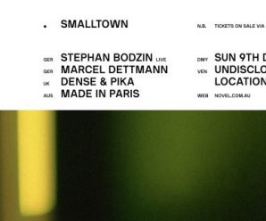 What happens when you book three of the most thrilling international performers in the electronic music world? smalltown.