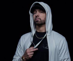 """Eminem addresses critics in """"Fall"""" video featuring Justin Vernon"""