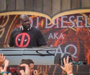 Shaq Throws Down Heavy Riddim Set At Lost Lands 2018 As DJ Diesel