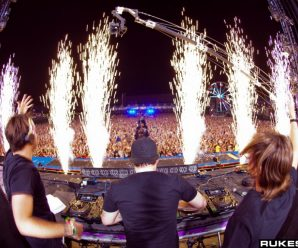 You Can Purchase A 43-Second Clip Of Drone Footage From Swedish House Mafia's Reunion For An Insane Price