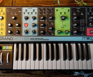 Moog publicizes new analog synth, the 'Moog Grandmother'