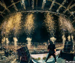 Skrillex Drops Unheard Song During His Show in Australia