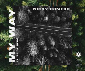 Nicky Romero – My Way that includes Alice Berg – Dancing Astronaut