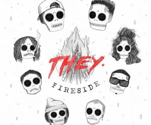 Stream THEY.'s star-studded 'Fireside' EP