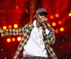 Jay-Z attempting to speak Travis Scott out of Super Bowl halftime present