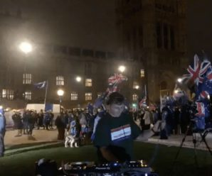 "Watch DJ SUAT livestream a ""Brexit DJ set"" exterior of the Houses of Parliament"