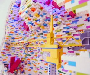 Zedd has the Sistine Chapel of LEGO installations in his home – Dancing Astronaut