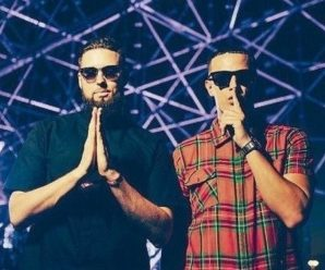 DJ Snake, Tchami, Malaa, and Mercer take over Red Rocks below Pardon My French banner
