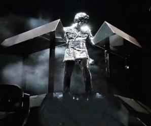 Gesaffelstein's Coachella stage setup is designed to emulate the darkness of a black gap