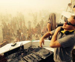 Diplo throwing block celebration fundraiser to profit Burning Man theme camps