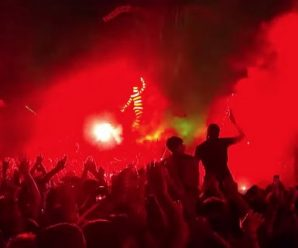 Watch The Chemical Brothers insane new stay present