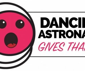 Dancing Astronaut Gives Thanks 2019