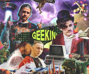 "Yvng Jalapeño & Just A Gent Tap Nerve For Rap-Infused ""Geekin'"""
