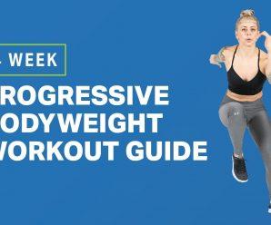 4-Week Progressive Bodyweight Workout Guide